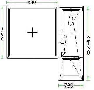Балконный блок - Двери и окна
