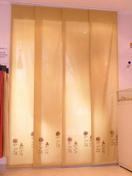 Японские шторы великолепно подходят