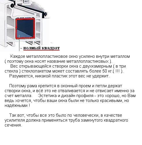 армирование - полный квадрат